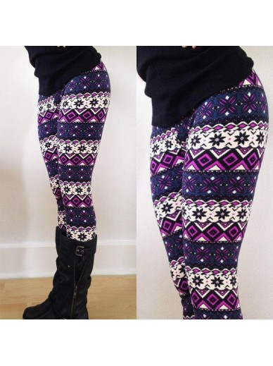 WINTERLEGGINGS PURPLE
