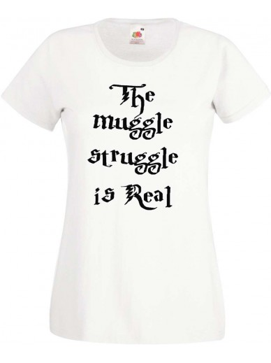 T-Shirt Lady Fit  Muggle Struggle