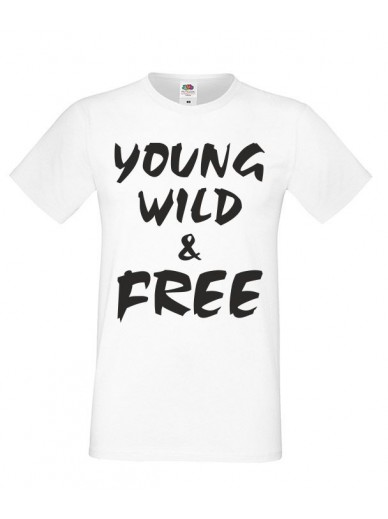 T-Shirt Oversize Wild and Free