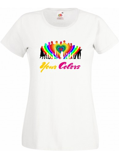 T-Shirt Lady Fit Your Colors II
